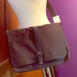 Calvin Klein Interior Padded Messenger Bag